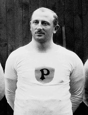 Johan Edman - Edman at the 1912 Olympics