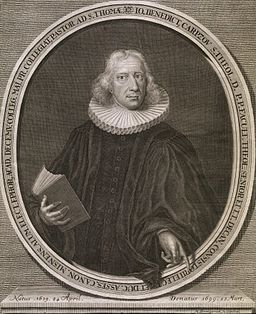 Johann Benedict Carpzov II von Martin Bernigeroth