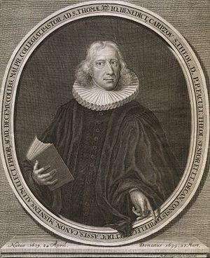 Johann Benedict Carpzov II - Johann Benedict Carpzov II.