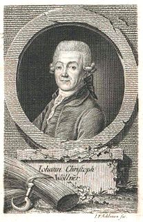 Johann Christoph von Wöllner Prussian pastor and politician