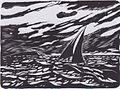 Johannessen - Segelboot am Meer, ca 1918.jpeg