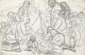 Johannot T. attr. - Pencil - Bohémiens, le repas - 27x17.5cm.jpg