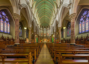 John's Lane Church - The interior