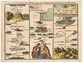 John Bunyan, The Road From the City of Destruction to the Celestial City 1821 Cornell CUL PJM 1038 01.jpg