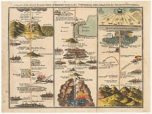 Pilgrim\'s Progress Map The Pilgrim's Progress   Wikipedia Pilgrim\'s Progress Map