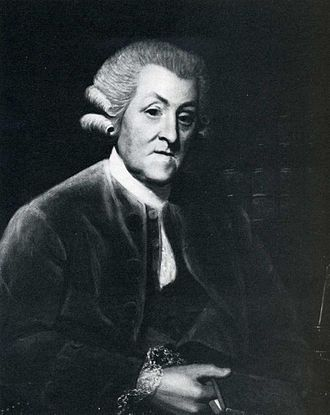 John Hawkins (author) - Sir John Hawkins 1786, after a painting by James Roberts