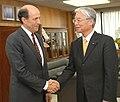 John Roos and Masayuki Naoshima 20091021.jpg