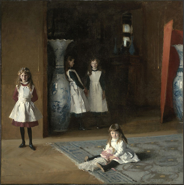 From commons.wikimedia.org: John Singer Sargent - The Daughters of Edward Darley Boit 1882 {MID-226047}