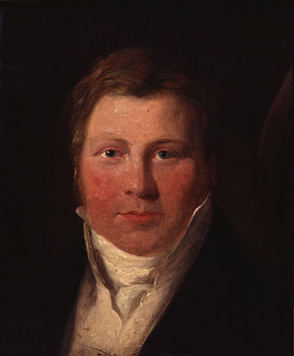 The Ghost of a Flea - John Varley portrayed by William Mulready, 1814. National Portrait Gallery, London