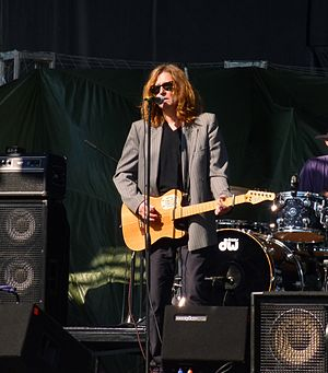 John Waite - John Waite at sound check before the Surf and Song Festival