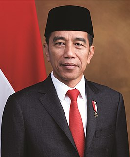 Joko Widodo 7th and current President of Indonesia