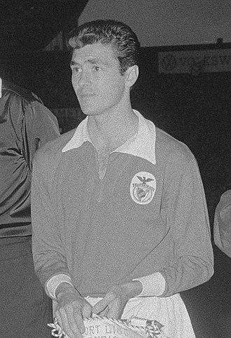 José Águas - Águas with Benfica in 1962