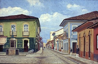 Largo do Rosário, 1880
