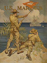 Joseph Christian Leyendecker - usonaj marsoldatoj (1917).jpg