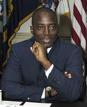 Laurent-Désiré Kabila - Laurent-Désiré Kabila's son and successor, Joseph Kabila