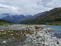 Jotunheimen mountains - view from Spiterstulen.JPG