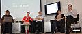 Journée Wikipédia, objet scientifique 2013 table ronde.JPG