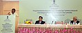 Jual Oram addressing the conference of the Principal Secretaries of tribal welfare from various states, in New Delhi on October 29, 2015. The Secretary, Ministry of Tribal Affairs, Shri Arun Jha is also seen.jpg