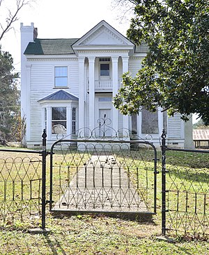 Houston, Mississippi - Judge Bates House in Houston is listed on the National Register of Historic Places