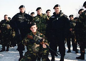 Law enforcement in the Republic of Macedonia - Image: Juli 2001Matejce