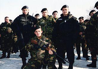 Law enforcement in the Republic of Macedonia - Image: Juli 2001Matejce
