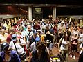 July 4 crowd at Vienna Metro station.jpg
