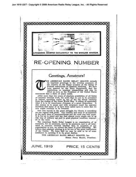 File:June 1919 QST.djvu