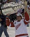 Justin Abdelkader's Stanley Cup2008 cropped.jpg