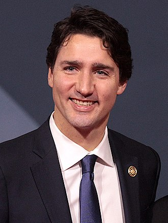 2020 G20 Riyadh summit - Image: Justin Trudeau and Benigno Aquino III November 2015 cropped