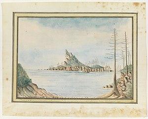 Surprize (1780 ship) - Image: Justinian & Surprize