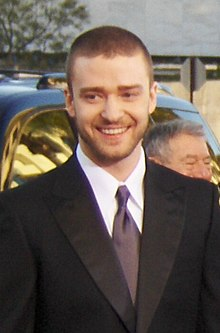 Justin Timberlake arriving at the 2007 Golden Globe Awards at the Beverly Hilton Hotel in Beverly Hills, California on January 15, 2007