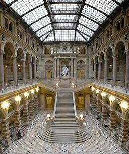 Justizpalast Vienna interior Oct 2007b