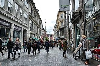 Købmagergade - Købmagergade in 2014