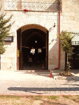 Kırkkaşık Bedesten - East portal