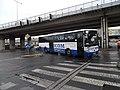 Křižovatka U Bulhara, autobus ČSAD Jindřichův Hradec.jpg