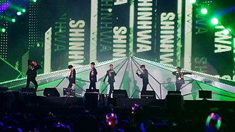 Shinhwa - Shinhwa performing at KCON JEJU 2015