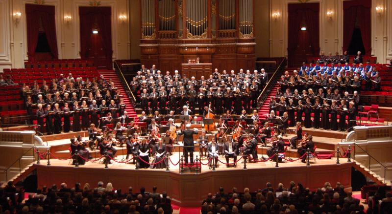 Salle de concert du Concertgebouw à Amsterdam. Photo d'Angelique1966