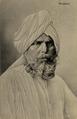 KITLV - 1401030 - Kleingrothe, C.J. - Medan - Bengali man with beard - circa 1910.tif