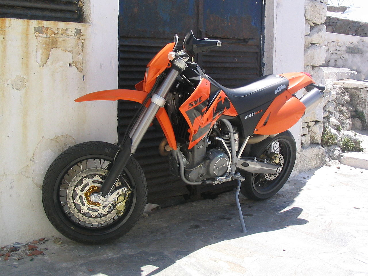 ktm supermotard 690 smc