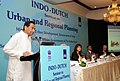 Kamal Nath addressing the Indo-Dutch Seminar on Urban and Regional Planning, in New Delhi. The Minister for International Trade and Development Cooperation, Govt. of Netherlands, Ms. Lilianne Ploumen and the Secretary.jpg