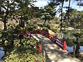Kanrankyo Bridge in Shukkei Garden.jpg