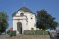 Kaple Bolestné Panny Marie s bývalou kaplí svatého Floriana, Božími mukami a pamětními kameny v Pelhřimově 02.JPG