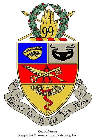 Kappa Psi - Image: Kappa Psi Coat of Arms