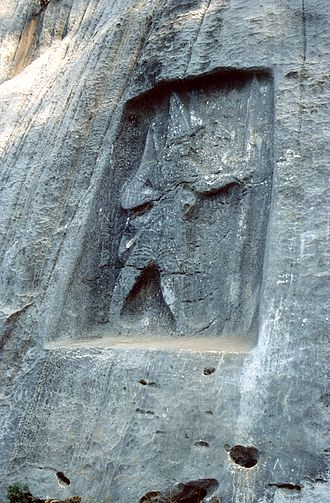 Karabel relief - Hittite rock relief of King Tarkasnawa, Turkey
