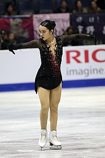 Karen Chen American figure skater