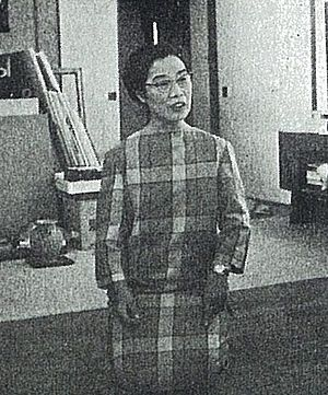 Tamako Kataoka - Kataoka Tamako in 1962