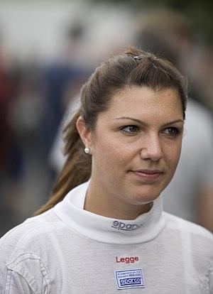 Katherine Legge - Legge during the 2009 Deutsche Tourenwagen Masters season