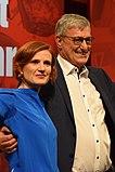 Katja Kipping und Bernd Riexinger. Leipzig 2018 (cropped 2).jpg