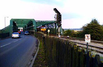 Keadby - Keadby Bridge, from Althorpe railway station