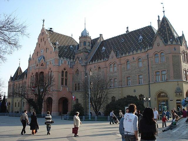 Rathaus Kecskemét